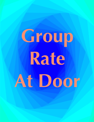 Group - At The Door Rate - Last day to register 3/21!!