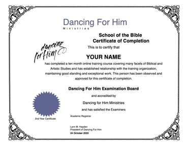 BIBLE SCHOOL - Online Course