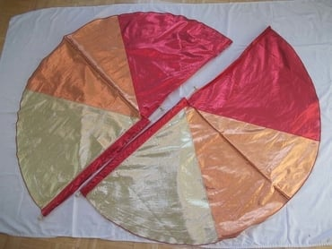 Trinity Half-Circle Flags (2 Flag, 1 Set)
