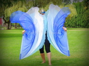WATER Organza Angel Wings - 1 Pair - Worship Flags