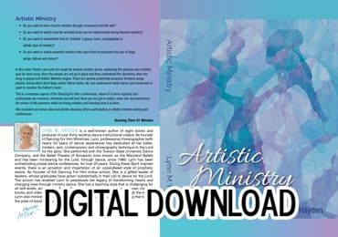 Artistic Ministry - Video Download - Brand New!!