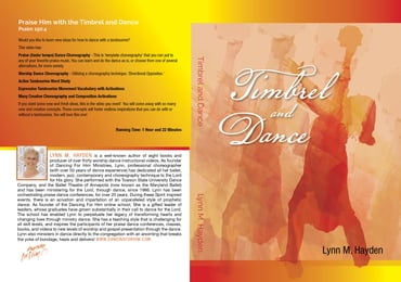 Timbrel and Dance - DVD - BRAND NEW!!