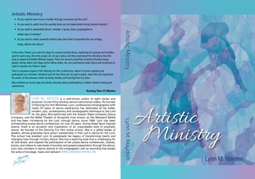 Artistic Ministry - DVD
