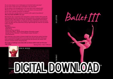 Ballet III - Intermediate/Advanced - Video Download