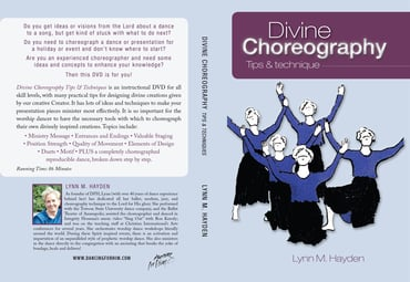 Divine Choreography Tips & Techniques - DVD